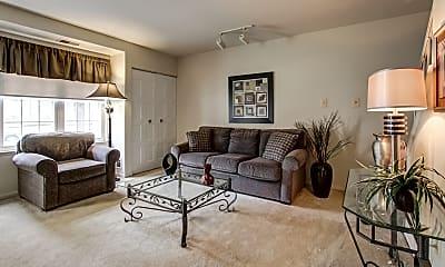 Living Room, Gateway Townhomes, 1