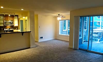 Living Room, 300 N. 130th St. Unit 8204, 1