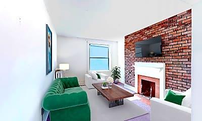 Living Room, 503 Beacon Street, Unit 6, 0