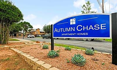 Community Signage, Autumn Chase, 2