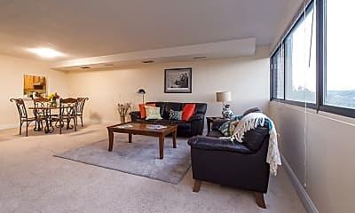 Living Room, Walnut Towers, 1