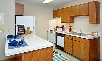 Kitchen, Wyndemere Apartments, 1