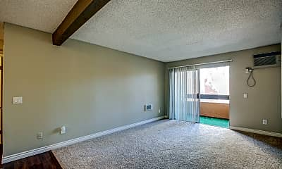 Living Room, Brookhollow Apartments, 1