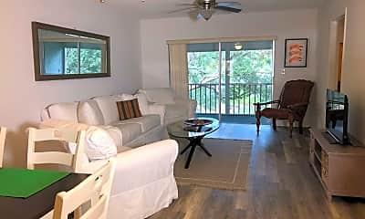 Living Room, 9826 Marina Blvd 1023, 1