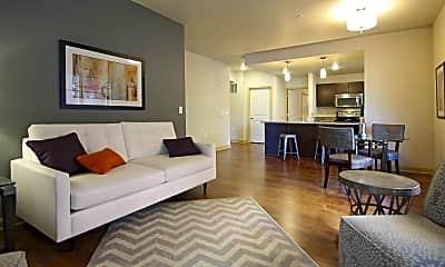 Living Room, Lake Edge Apartments, 1