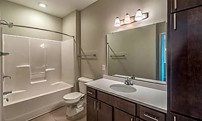 Bathroom, Encore Apartments, 1