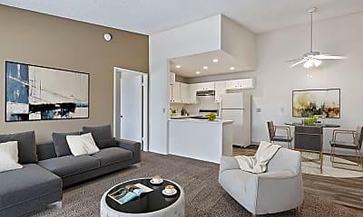 Living Room, Shadowridge Heights, 1