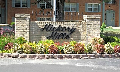 Community Signage, Hickory Hills Condominiums, 1