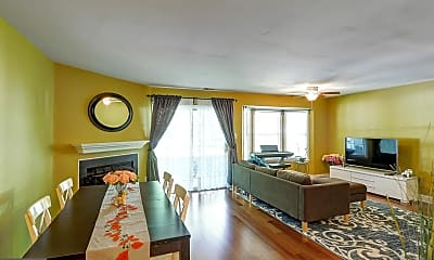 Living Room, 119 Commonwealth Ct 1, 1