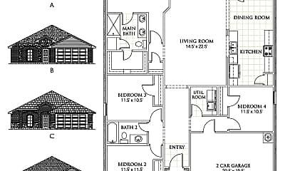 Building, 2206 Princeton Ave, 1
