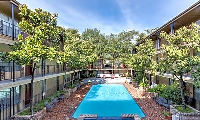 Pool, Water Mill Apartments, 2