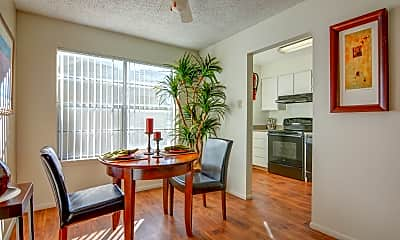 Dining Room, The Courtyard Apartment Homes, 0