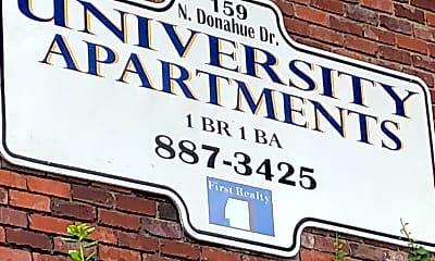 University Apartments, 1