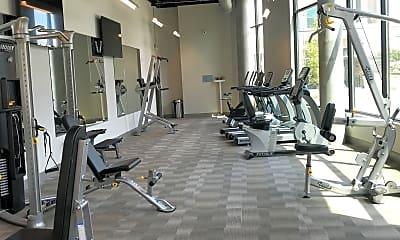 Fitness Weight Room, Atlas Germantown, 2