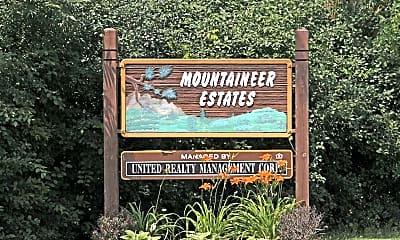 Community Signage, Mountaineer Estates, 2