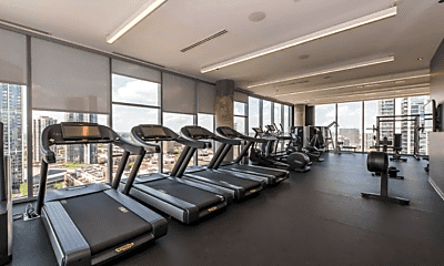 Fitness Weight Room, 323 W Illinois St, 2