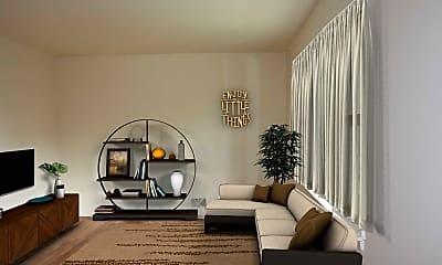 Living Room, Edlyn Estates, 1