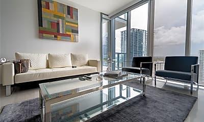Living Room, 68 SE 6th St 2510, 1
