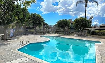 Pool, 14960 Sherman Way, 2