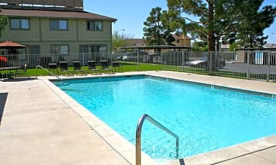 Pool, Park Circle Apartments, 1