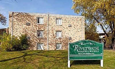 Community Signage, Riverwest Apartments, 2