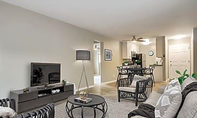 Living Room, Sixth + Raymond, 1