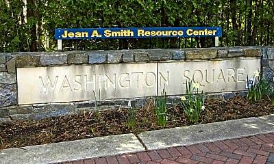 Community Signage, Washington Square Apartments, 2