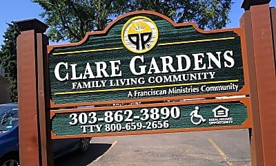 Clare Gardens, 1