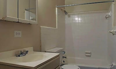 Bathroom, Pine Hill Apartments, 2