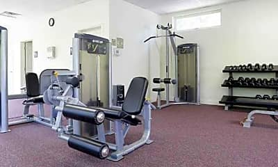 Fitness Weight Room, Davis Enterprises Ryans Run, 2