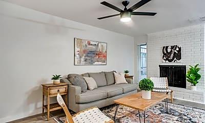 Living Room, 4928 Live Oak Street, 2
