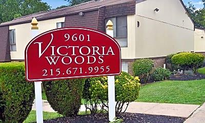 Community Signage, Victoria Woods, 0