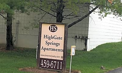 Highgate Springs Apartments, 1