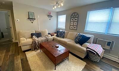 Living Room, 110 Belmont Ave, 1
