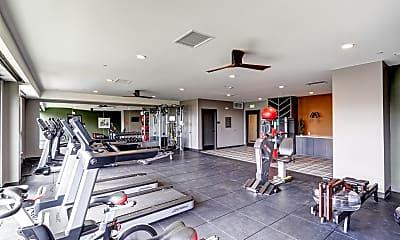 Fitness Weight Room, Epoque Golden, 2