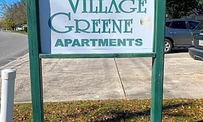 Community Signage, 1438 Green St, 2
