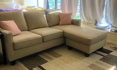 Living Room, 5445 N Sheridan Rd 2705, 2