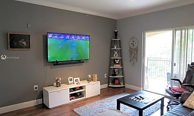 Living Room, 100 SW 117th Terrace 2306, 1