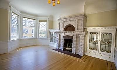 Living Room, 1320 Taylor St, 1