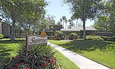 Community Signage, Sunrise Apartments, 0