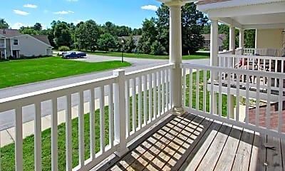 Patio / Deck, Saratoga Heritage, 0