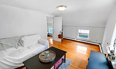 Living Room, 6 Lincoln Avenue, Unit 1, 2