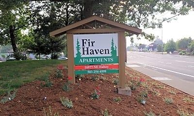 Fir Haven, 1