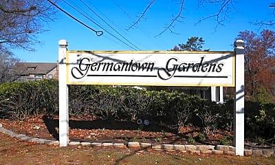 Community Signage, Germantown Garden Apartments, 2