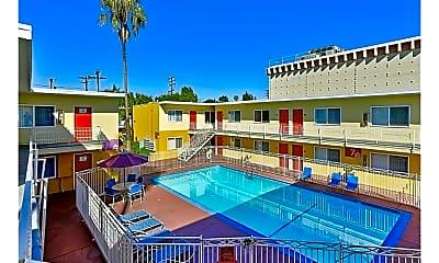 Pool, Santa Monica Palms, 1
