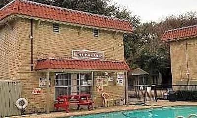 Pool, Spanish Villa, 1