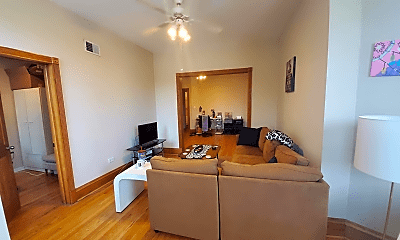 Living Room, 1852 N Milwaukee Ave, 1