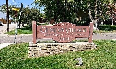Geneva Village, 1