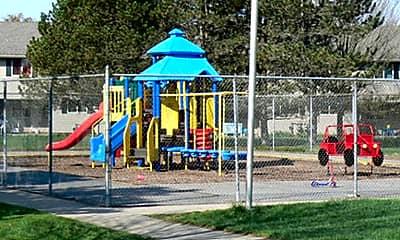 Playground, Park Drive Manor Apartments, 2
