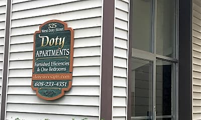 Doty Street Apartments, 1